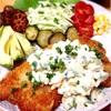 鱈のフライ、豆乳ヨーグルトと糠漬けのタルタル