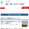 速報、岡山県新型コロナウイルス現在の状況です。