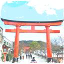 京都×漫画