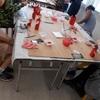 11月の講座の様子 『クリスマス向け工作~かわいい木製サンタ~』