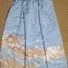 【着物リメイク】色留袖ギャザースカート