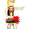 木村夏樹ちゃんを描きました!全体像に挑戦です!