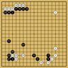 AlphaGo対AlphaZeroの棋譜4