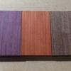 木材の色の変化について/CNC工作機による小物製作