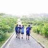 夏の旅行行事 中学生、伊豆大島へ!