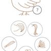鳥のしっぽはどんな形? 【深層心理テスト】