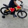 4歳自転車☆甚平☆最近忙しいなぁ