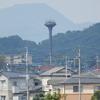 住宅街からにょきっ! 宇美町の給水塔