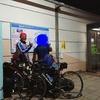 【二日目】静岡県富士市道の駅富士にて - ロードバイクロングライド十六日間の旅(思い出に残った人編)