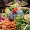 *青いご飯?!( ゚ェ゚)美しいプレートランチ♡*