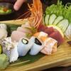 【海】台北駅近くのリーズナブルな日本料理「渾水摸魚料亭」@中山台北駅