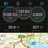東奔西走 138km Bike