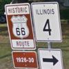 アメリカでドライブ! Illinois - Old Route 66 / イリノイ州 と 旧国道66号線