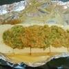 豆腐のネギ味噌ホイル焼き