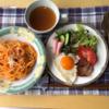 ★我が家の冷凍した食材と「パスタランチ」&「鯖の塩焼き定食」