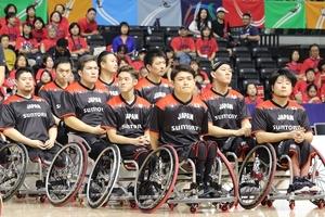 【パラスポーツ】車いすバスケ=男子代表がオンライン会見 「勝ち切るチーム」の土台作り専念