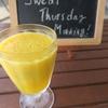 今日のジュース「Sweet Thursday Morning!」