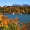 夕張・シューパロ湖の紅葉02 2014年10月12日撮影
