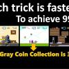 Fastest 99 lives trick!! Super Mario World (マリオワールド最速99機)