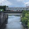 鳩川を歩く 1/2 相模川合流点付近から遡って鳩川分水路