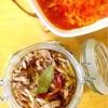 なまり節のオイル漬けと自家製トマトソース