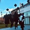 卒業式に行ってきました
