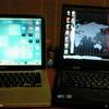 PCを2台使うこと