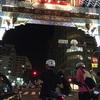 自転車で勤務してその後自転車集会参加