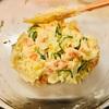 『手作りのポテトサラダ』