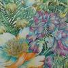 完成】ホルベイン色鉛筆でレイラさんの世界一美しい花のぬり絵029メイキングです☆FLORIBUNDAより
