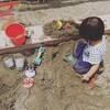 【1歳11ヶ月】息子の砂遊び