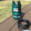 【水道代節約】家庭用ポンプを使って用水路から水を引く
