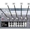 【DTM】シンプルなシンセで使い方を覚える②:TAU Bassline