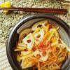 お弁当のスキマに最適!根菜たっぷりきんぴらの美味しいおかずレシピ