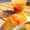 【東京・港区④】都会のオアシス!晴れた日はテラス席で!パンサレサンドがオススメ! PAUL