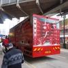 いけてる赤いトラック