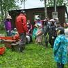 森のお遊び会 6月 森を守るとは 間伐 薪作り 植樹 焚き火マシュマロ