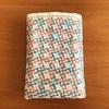 カラフルな刺し子糸を使ってたのしい一目刺しの刺し子ふきん〜風車(かざぐるま)〜
