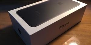 iPhone7ブラックのデザインを6と比較しながらフォトレビューする