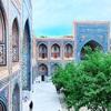 レギスタン広場でRPG気分 憧れのウズベキスタン#3