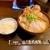 麺匠真武咲弥!道玄坂の人気店で食べる炙り味噌ラーメンと戦国からあげ