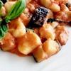 GnocchiSiciliana ニョッキシチリアーナ ORESTE PAGNOTTAシェフのレシピ