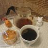 今回のコーヒーはキリマンジャロAA(中煎り)~お茶請けはチーズケーキ~
