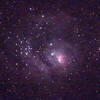 600mm超望遠レンズで天体撮影③ M8干潟星雲とM20三裂星雲