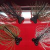 【イマカツ】特殊なヘッド形状でボトムで垂直に立つ「ミッキーヘッドジグ」に待望の3/8oz通販予約受付開始!