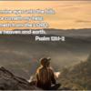 Psalm (詩編) 121 ~ Total Praise どんな嵐のただなかにいようとも