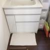バスマットと洗面所のマットを効率よく使う!