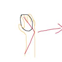 【AIM考察23】マウスは腕で振るのではなく、フリスビーのように手首のスナップで振る