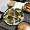 3/5 おうちばんごはん〜スタミナ焼肉サラダとスマブラとアケコンと〜