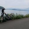自転車で猪苗代湖を一周